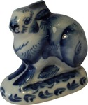 Скульптура «Зайчик» авт. Бессарабова
