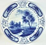 Блюдо настенное «Императорское» тема 3