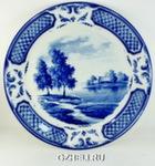 Блюдо настенное «Императорское» тема 6