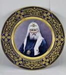 Блюдо «Патриарх Тихон» цвет авт. А. Удачин