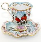 Чайная пара «Радость. Снегири» цвет авт. С. Алёхин