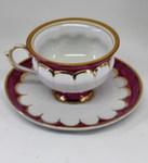 Чайная пара «Рубин» цвет