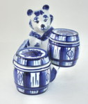 Медовница «Медведь с 2-мя бочками»