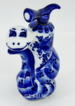 Скульптура «Змей с огнетушителем»