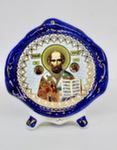 Киот настольный купол «Николай Чудотворец»