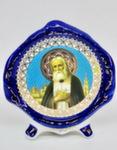 Киот настольный купол «Серафим Саровский»