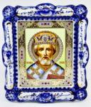 Икона «Николай» авт. И. Дрезгунов