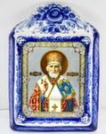 Икона рама б. «Николай Чудотворец»