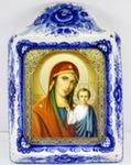 Икона рама б. «Божией матери Казанская»
