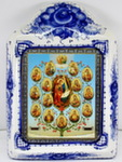 Икона рама б. «Древо Пресвятой Богородицы Горний Иерусалим»
