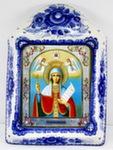 Икона рама б. «Параскева Пятница Великомученица»