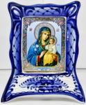 Икона рама м. «Божией матери Неувядаемый цветок»