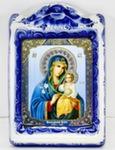 Икона рама ср. «Божией матери Неувядаемый цветок»