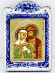 Икона рама ср. «Петр и Феврония Святые»