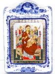 Икона рама ср. «Божией матери Всецарица»