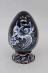 Яйцо пасхальное «Сюжет» глухой кобальт б.авт. С. Алёхин