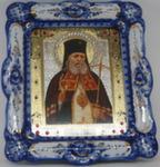 Икона «Лука Крымский» авт. И. Дрезгунов