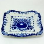 Тарелка «Нежность» пирожковая квадрат 2 авт. С. Алёхин