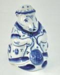 Скульптура «Мышь-вязальщица»