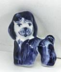 Скульптура «Собака 02» магнит