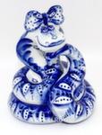 Скульптура «Змея Улыбка»