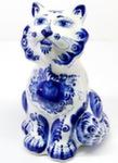 Скульптура «Кот копилка» авт. В. Сухов