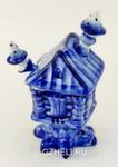 Скульптура «Избушка» солонка авт. А. и И. Дрезгуновы