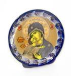 Скульптура «Лик. Владимирская б/м» плакетка авт. А. и И. Дрезгуновы