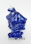 Скульптура «Избушка» шкатулка авт. А. и И. Дрезгуновы