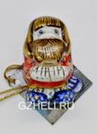 Скульптура «Оберег магнит Горный хрусталь» (цвет) авт. А. и И. Дрезгуновы
