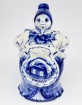 Скульптура «Никитишна» колокольчик авт. А. и И. Дрезгуновы