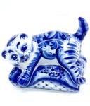 Скульптура «Кот Подушка» авт. Е. Сивова