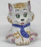 Скульптура «Котик 1» цвет авт. В. Коришев