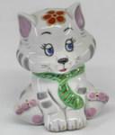 Скульптура «Котик 2» цвет авт. В. Коришев