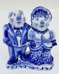 Скульптура «Свин и свинка» авт. А. Жигунов