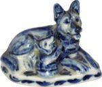 Скульптура «Собака и щенок» авт. А. Жигунов
