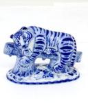 Скульптура «Тигр на бревне» авт. А. Жигунов
