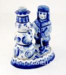 Скульптура «Мальчик и снеговик» авт. А. Жигунов