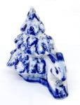 Скульптура «Зайка под елкой» авт. А. Жигунов