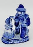 Скульптура «Змея и Дед Мороз» авт. А. Жигунов