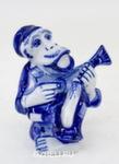 Скульптура «Обезъяна с балалайкой» авт. А. Жигунов