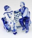 Скульптура «На диване» авт. А. Жигунов