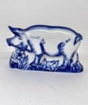 Скульптура «Символ года Свинка» магнит авт. А. Жигунов