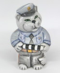 Скульптура «Кот ГИБДД» цвет авт. Т. Ефимова