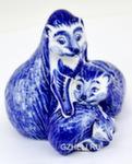 Скульптура «Ежиная семейка» авт.С. Мамонтов