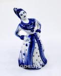 Скульптура «Девушка» колокольчик авт.С. Мамонтов