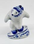Скульптура «Медведь-сноубордист» авт. Е. Сухорукова