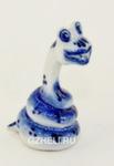 Скульптура «Змея Ужик» авт. О. и М. Пулеметовы