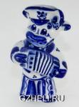 Скульптура «Бык с гармошкой» авт. О. и М. Пулеметовы