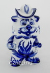 Скульптура «Тигр» чайница авт. О. и М. Пулеметовы
